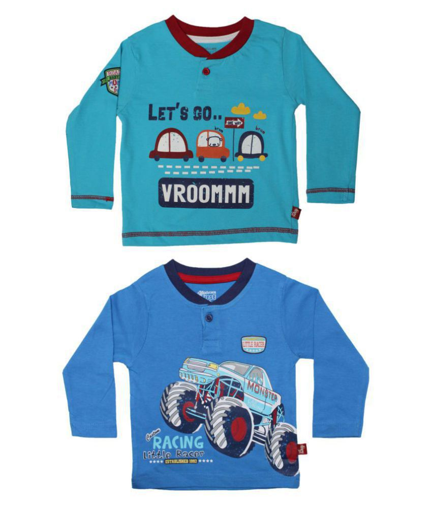 Bodycare First Baby Boys T-Shirt Combos Pack of 2