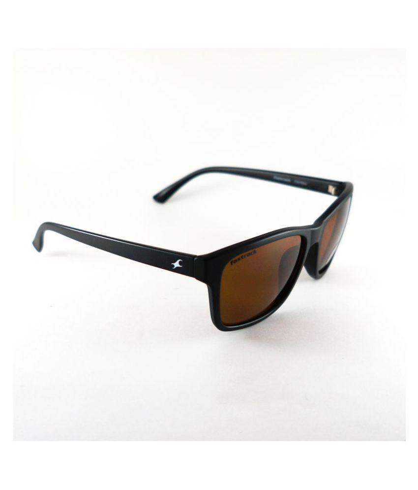 63947745e7 Fastrack Brown Wayfarer Sunglasses ( P357BK4 ) - Buy Fastrack Brown ...