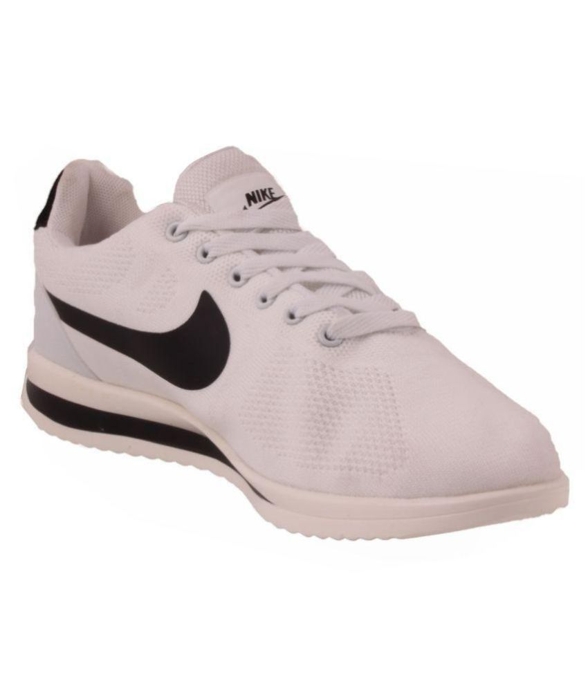 Nike Free White Running Shoes