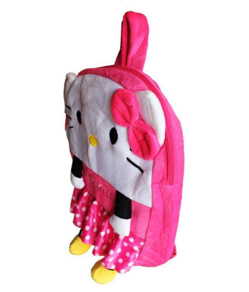 f26ff66112 ... ToyJoy Hello Kitty school bag 35cm for kids  girls boys children plush  soft
