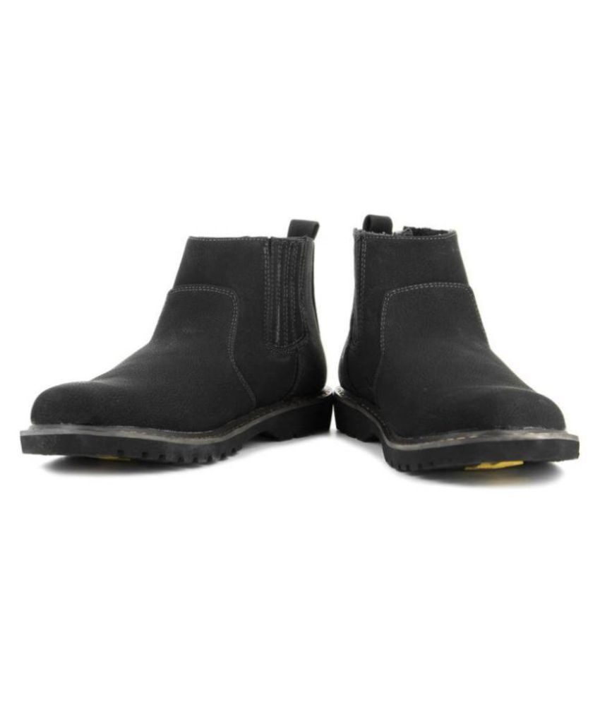 perseus Black Casual Boot