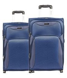 Safari Blue M( Between 61cm-69cm) Check-in Soft TERGO 55/65 4W SET BLUE Luggage