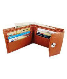 Crafty Leather Tan Formal Short Wallet
