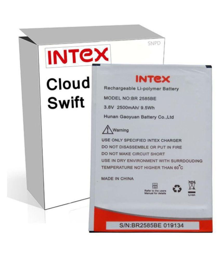 Intex Cloud Swift 2500 mAh Battery by Intex