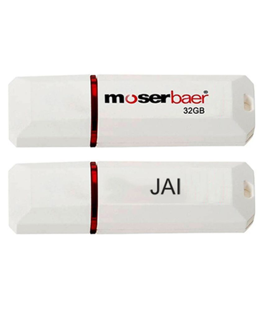 Moserbaer 32GB USB 2.0 Utility Pendrive Single