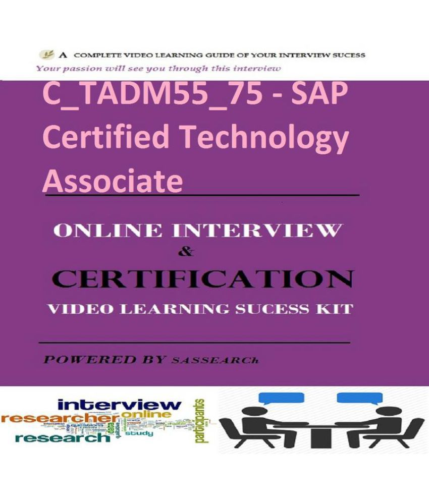 Ctadm5575 Sap Certified Technology Associate Online