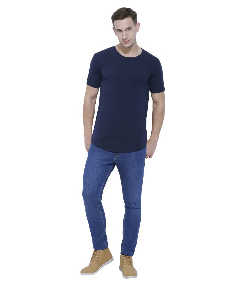 Ash&roh Blue Round T-Shirt