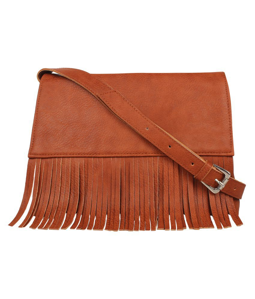 Anekaant Tan P.U. Sling Bag