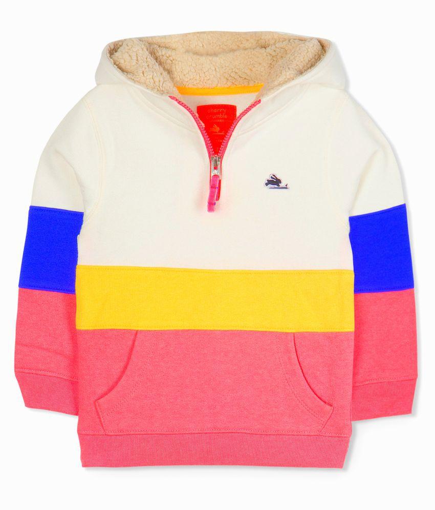 Cherry Crumble Half-Zip Urban hoodie