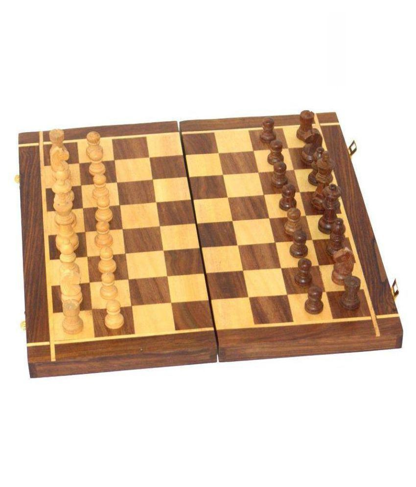 Khan Handicrafts Wooden Others Chess M
