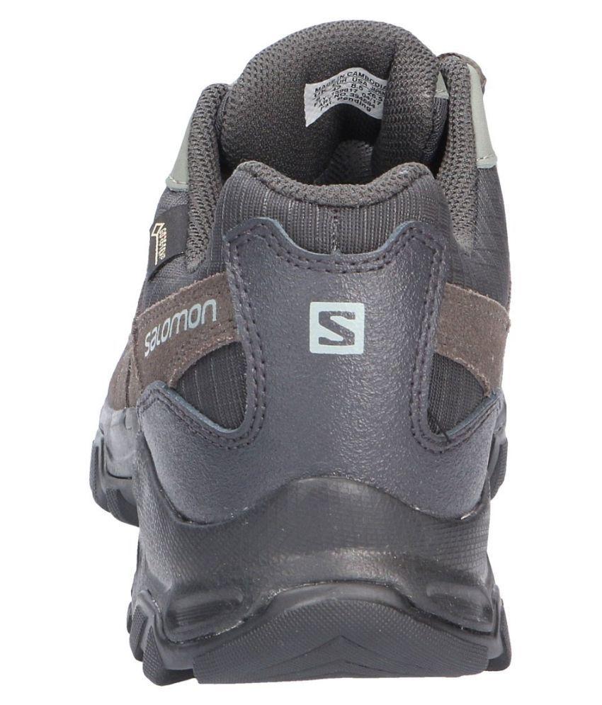 6979fbb36021 Salomon ESCAMBIA 2 GTX Multifunction Black Hiking Shoes - Buy ...