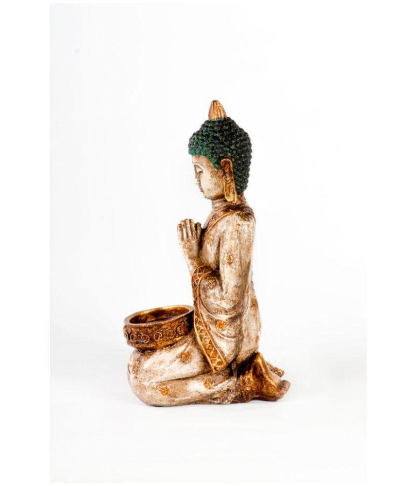 Shree padam art exim Buddha Plastic Idol