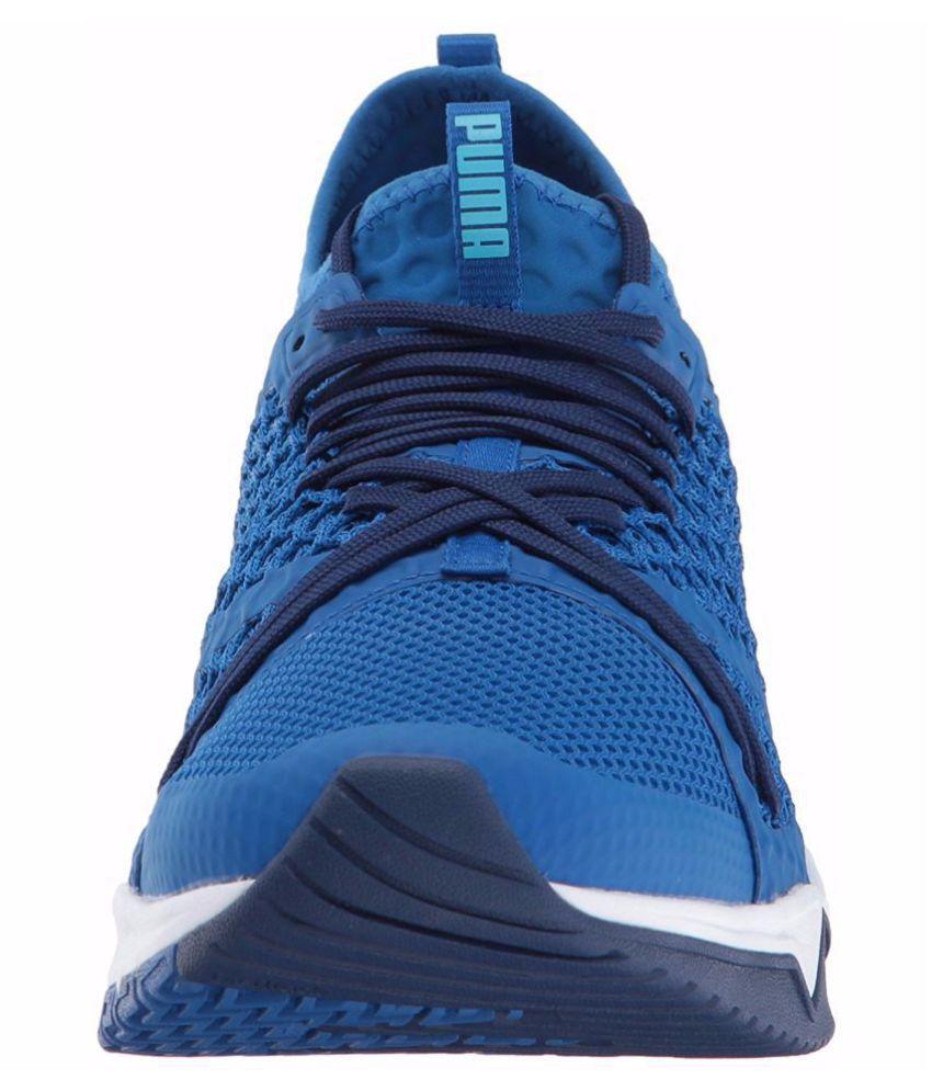 edca833a6eba15 Puma Ignite Xt Netfit Blue Running Shoes - Buy Puma Ignite Xt Netfit ...