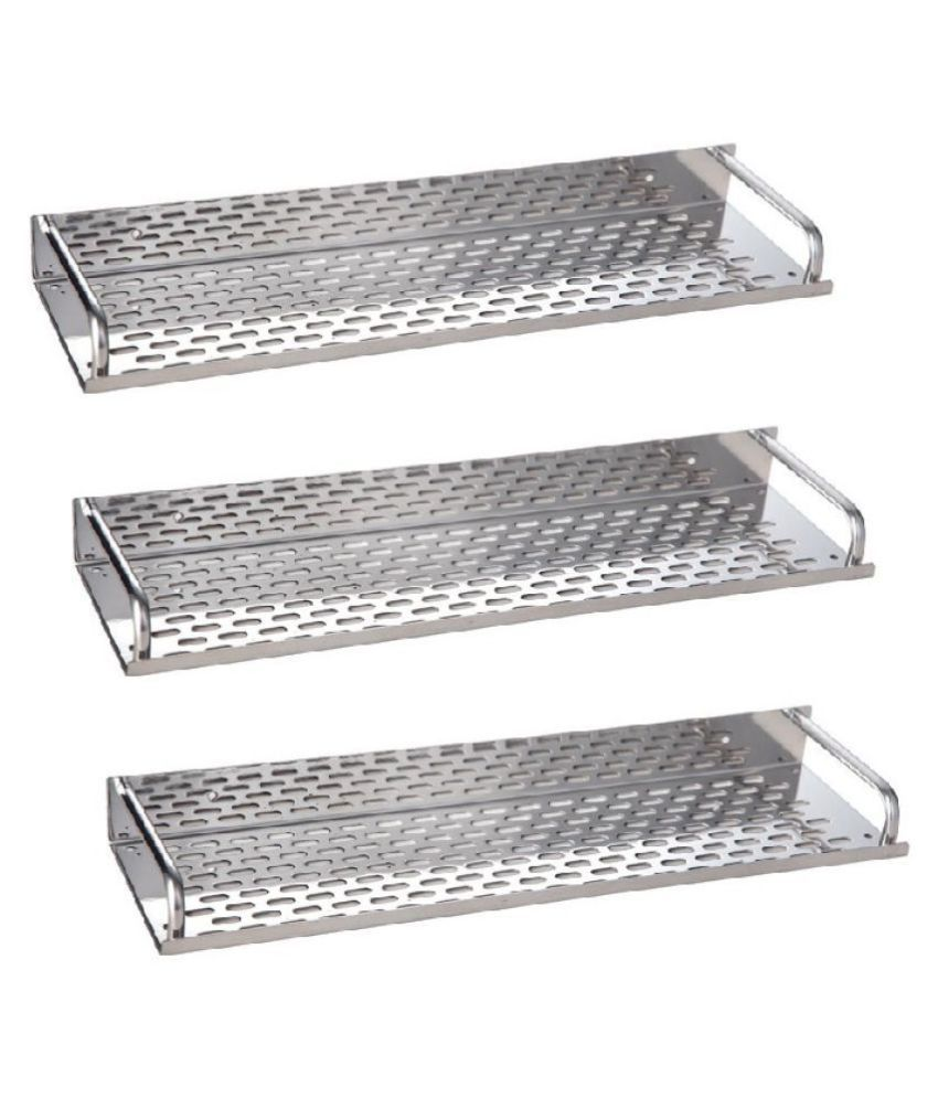 SSS Stainless Steel Wall Hung Shelf