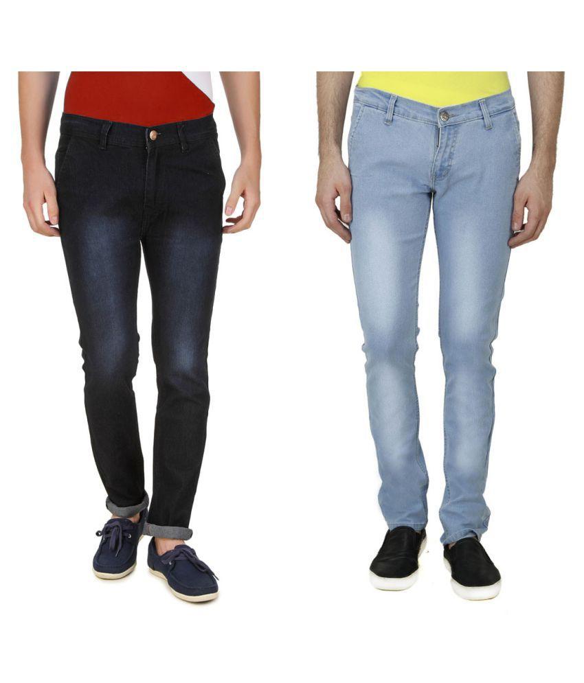 5ACE Multi Slim Jeans