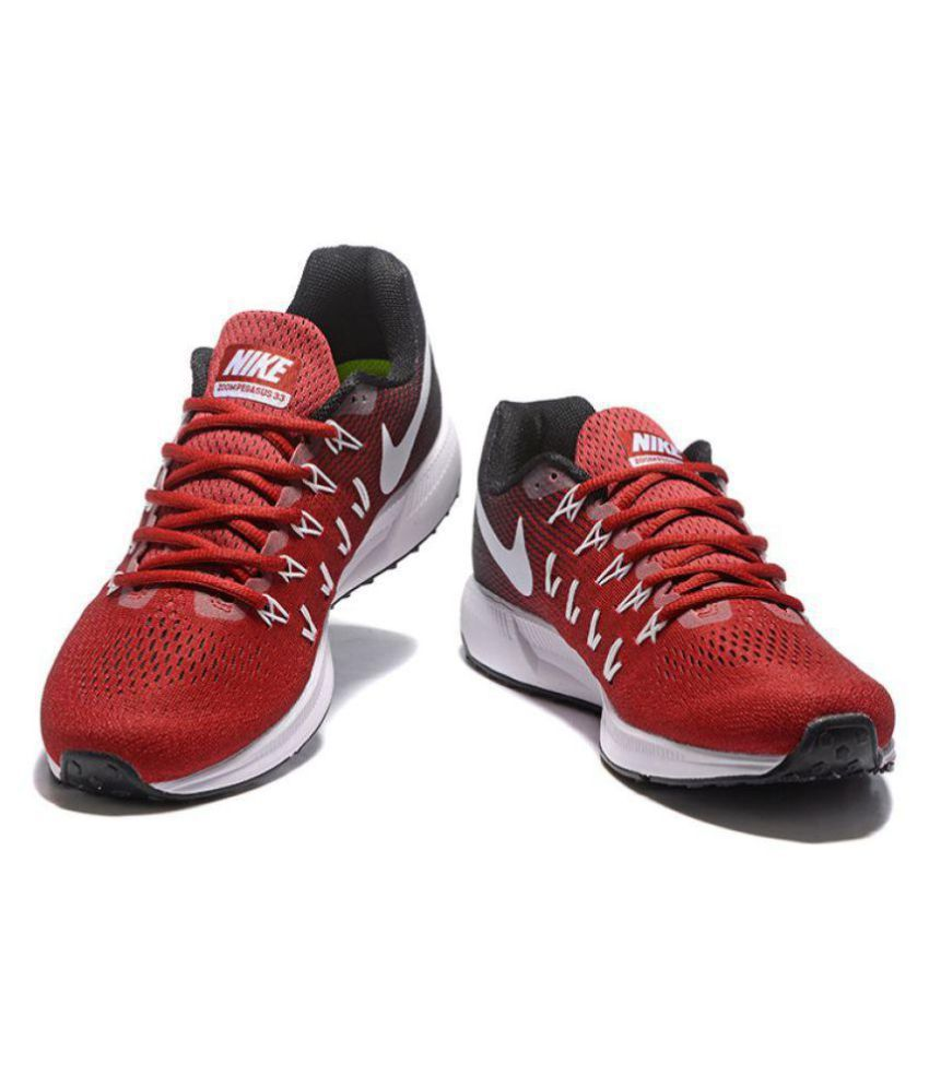 a151d93228e91 ... italy nike zoom pegasus 33 red running shoes buy nike zoom pegasus 33 red  running shoes