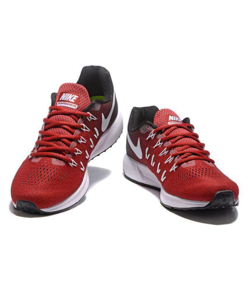 7ddd45e2fc90 ... italy nike zoom pegasus 33 red running shoes buy nike zoom pegasus 33  red running shoes
