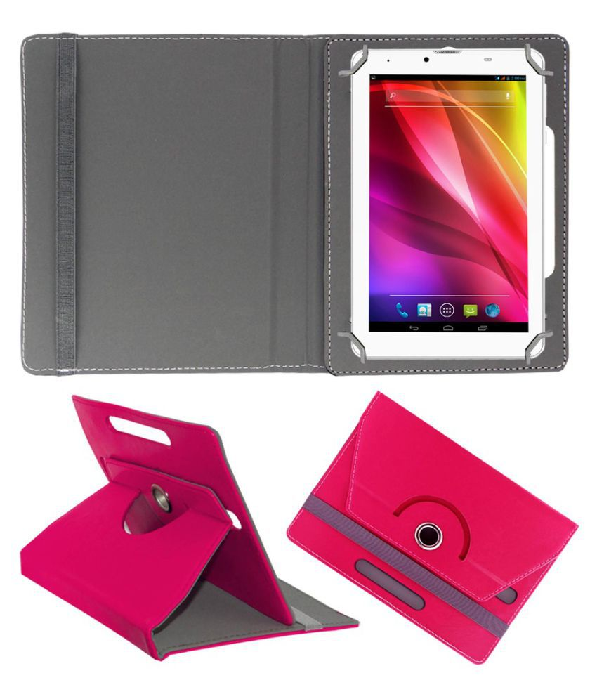 Hcl Me Y2 Flip Cover By ACM Pink
