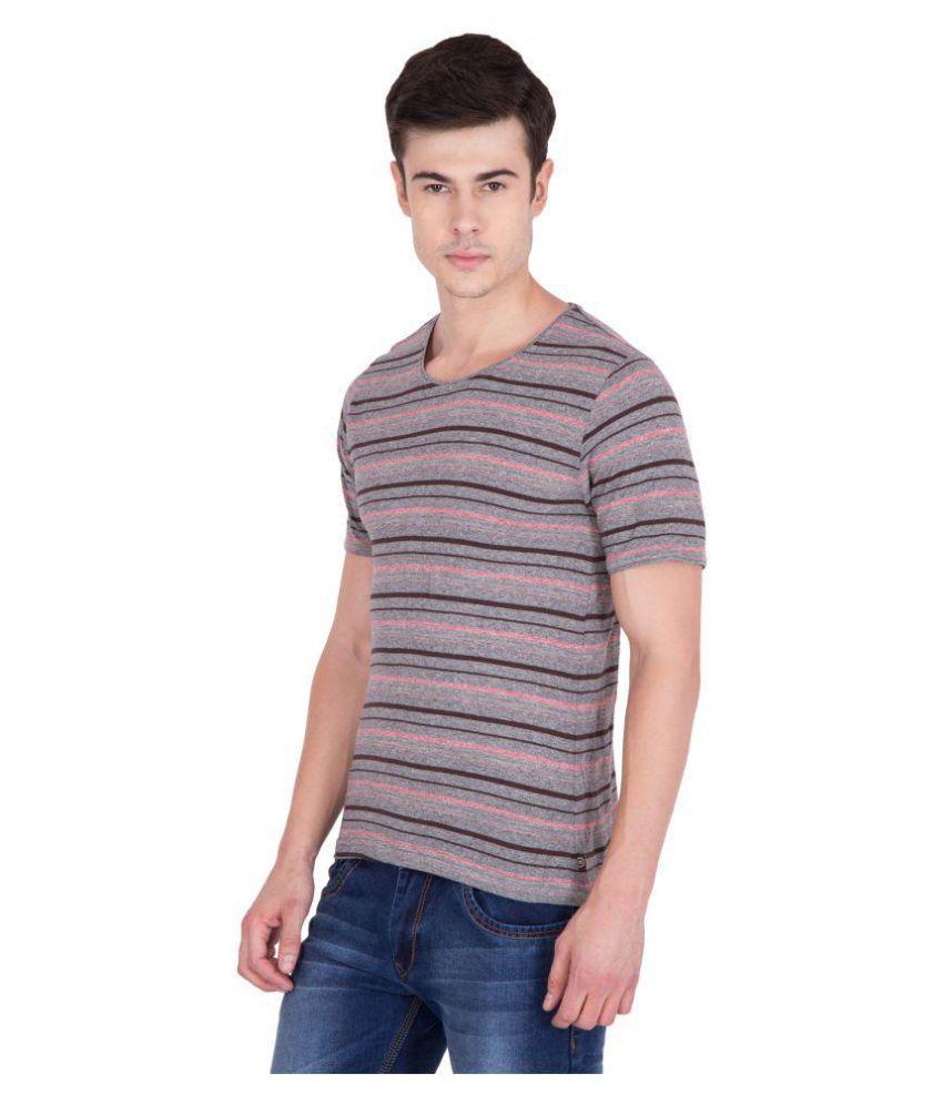AERO Brown Round T-Shirt
