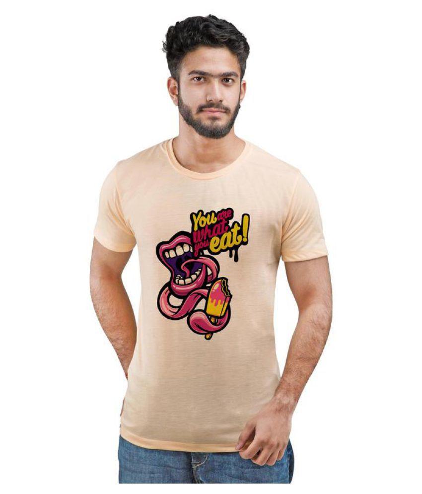 Snoby peach Round T-Shirt
