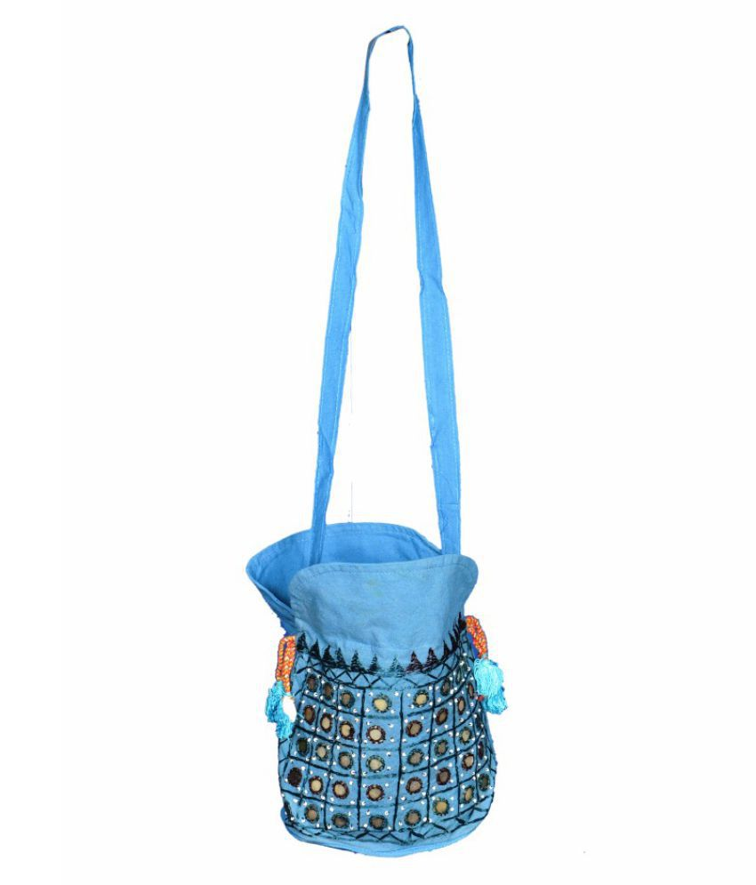 Art Gallery Blue Shopping Bags - 1 Pc