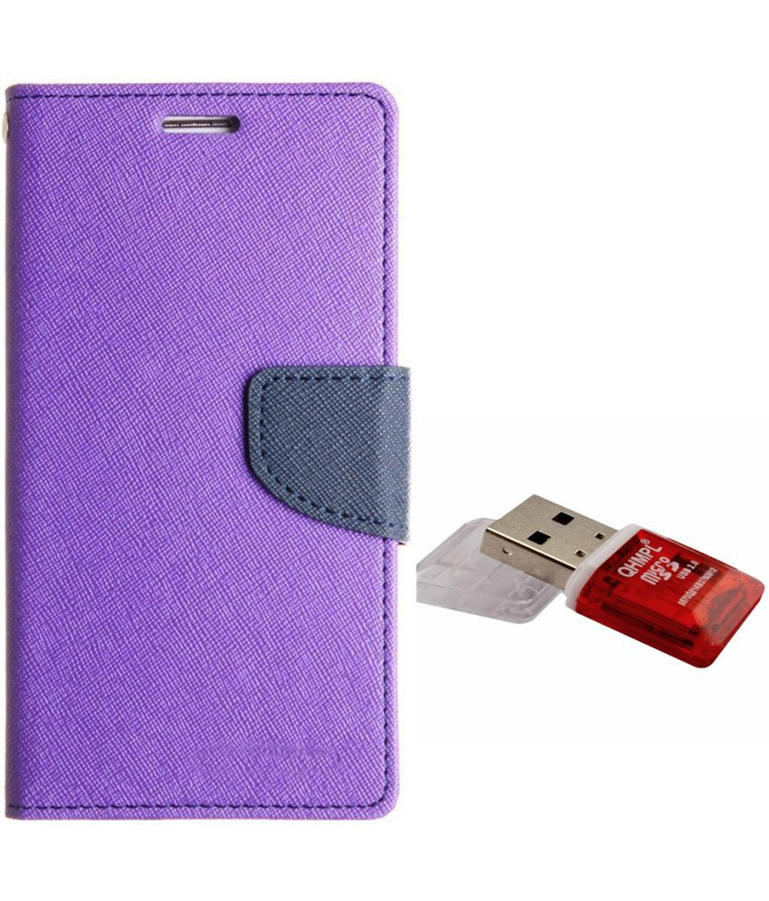 Vivo Y66 Cases with Stands Avzax - Purple