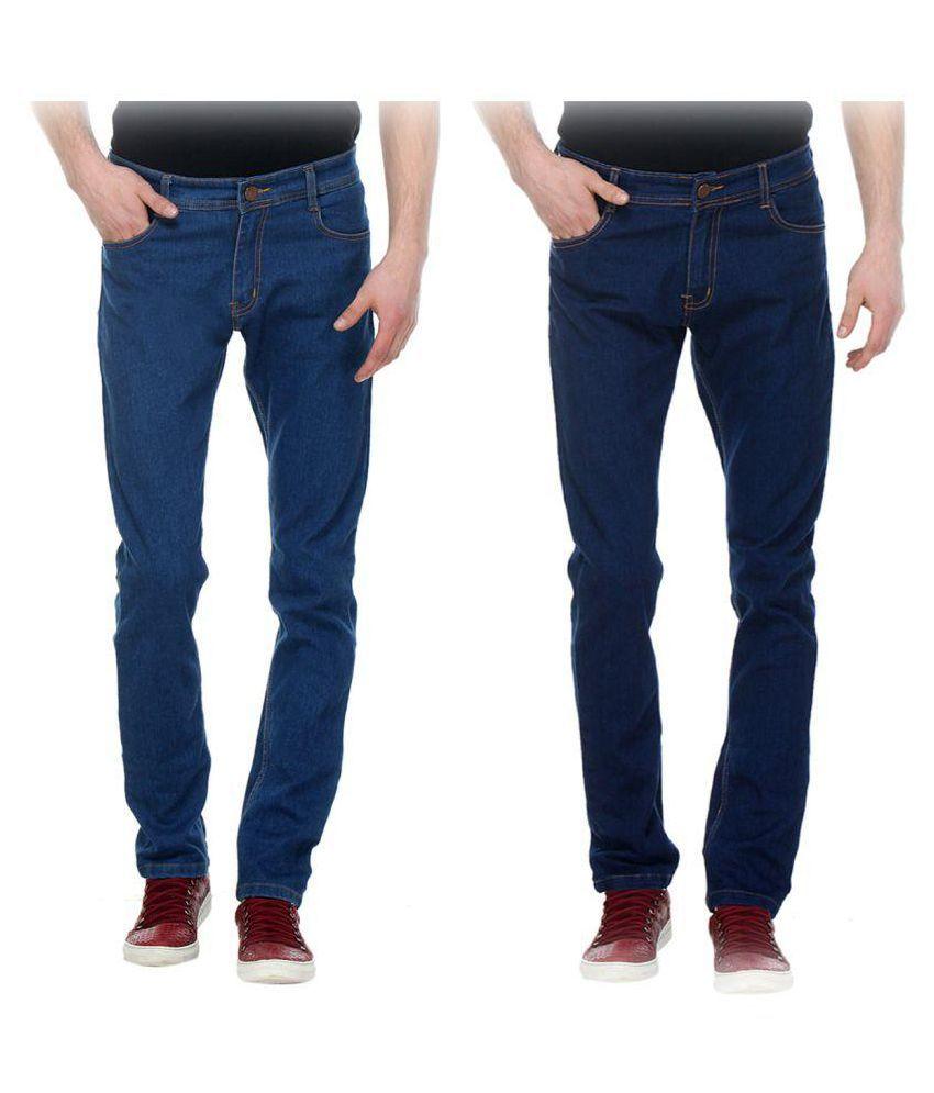 De Lannister Multi Slim Jeans