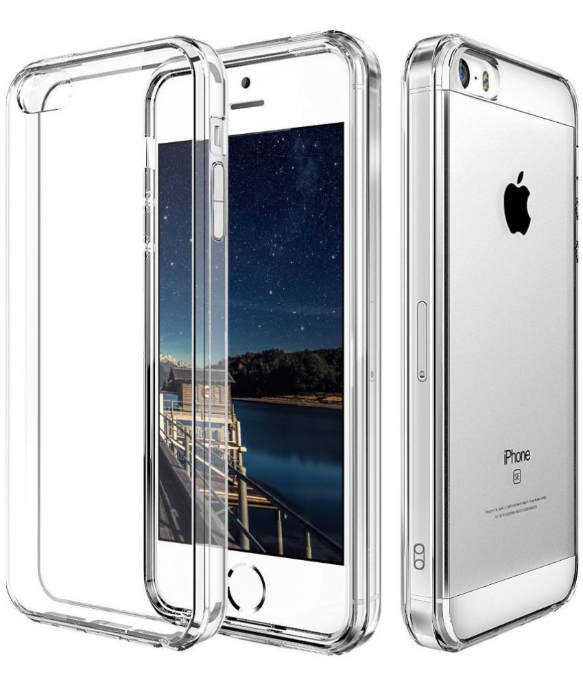 91062671001 Apple iPhone 5S Plain Cases B.kcreationsz - Transparent - Plain Back Covers  Online at Low Prices
