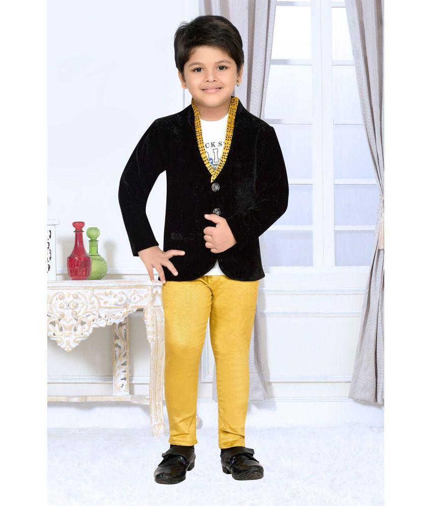 af6bce104 AJ Dezines Kids Party Wear Coat Suit Set For Boys - Buy AJ Dezines Kids  Party Wear Coat Suit Set For Boys Online at Low Price - Snapdeal