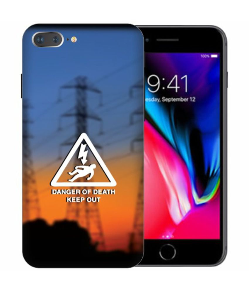 Apple iphone 8 Plus 3D Back Covers By Printland