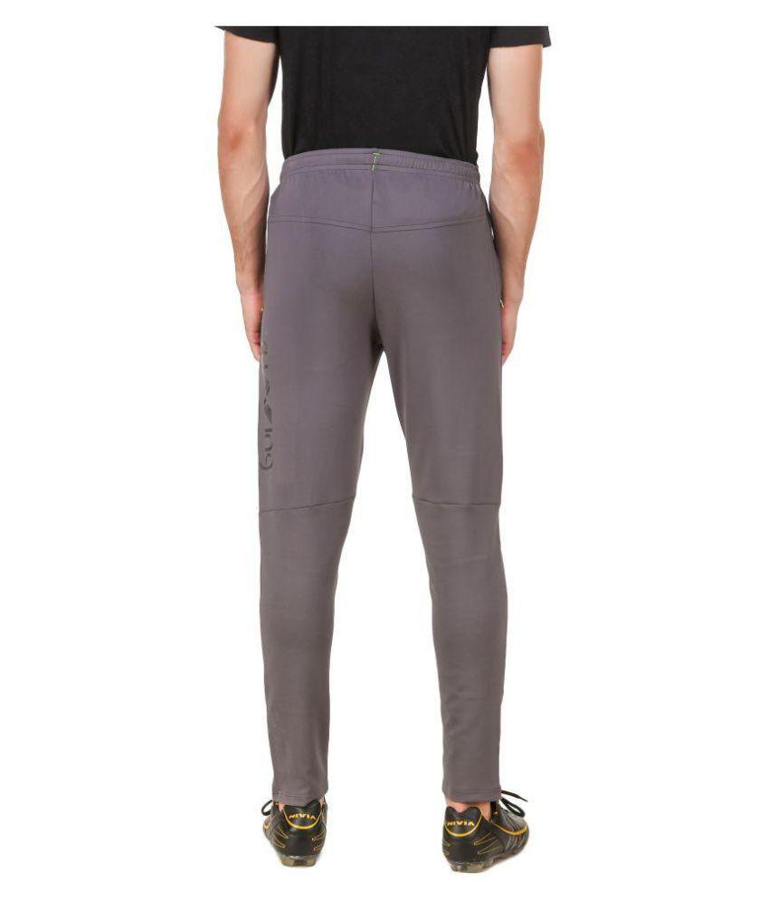 Nivia Grey Polyester Trackpants
