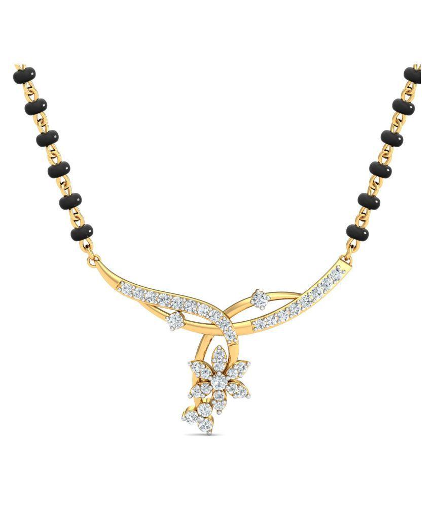Avnni By Nakshatra 18k Gold Diamond Mangalsutra