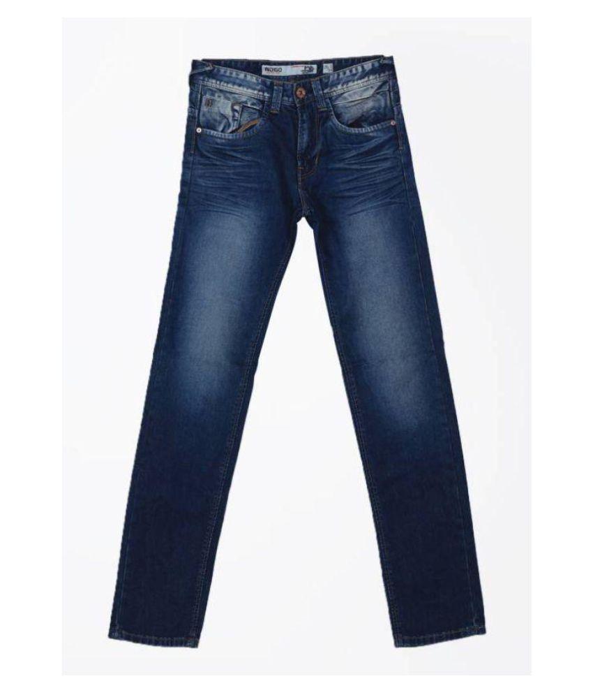 Indigo Blue Slim Jeans