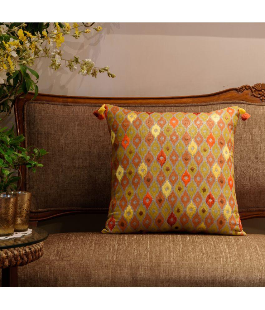 Onset Single Cotton Cushion Covers 45X45 cm (18X18)