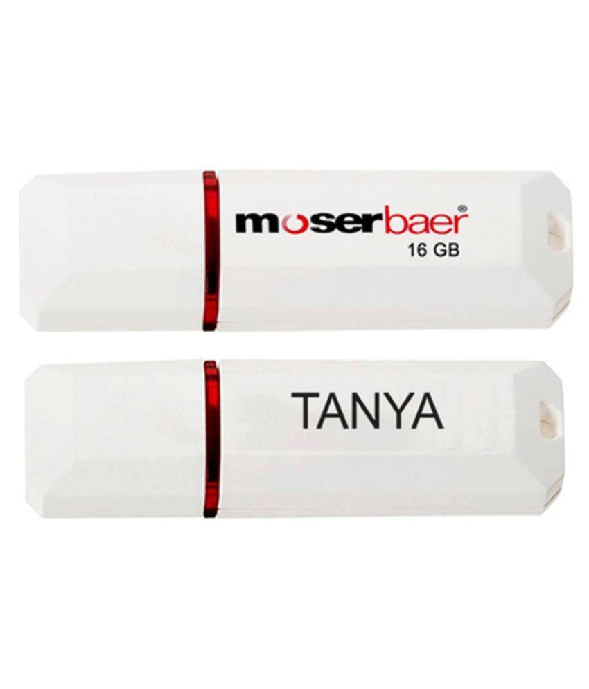 Moserbaer 16GB USB 2.0 Fancy Pendrive Single