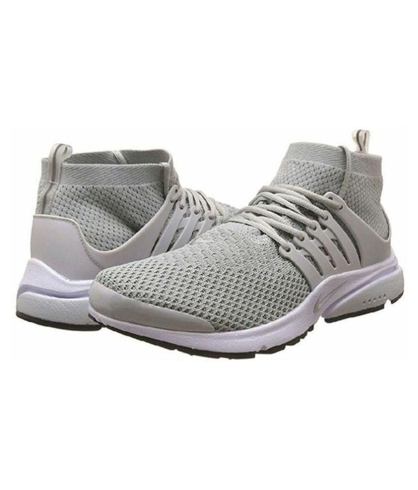 c182259fb8f71 Nike Air Presto Gray Running Shoes - Buy Nike Air Presto Gray ...