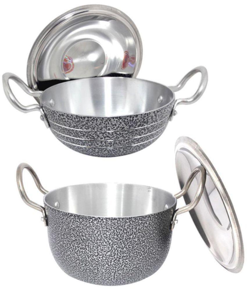 bartan hub 2 Piece Cookware Set