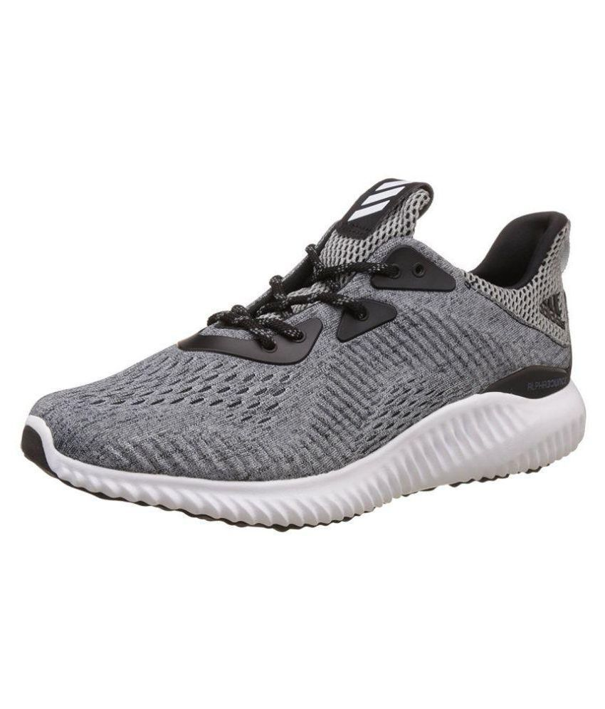 c45a9a02e75e Adidas Alphabounce Em M Gray Running Shoes - Buy Adidas Alphabounce Em M  Gray Running Shoes Online at Best Prices in India on Snapdeal