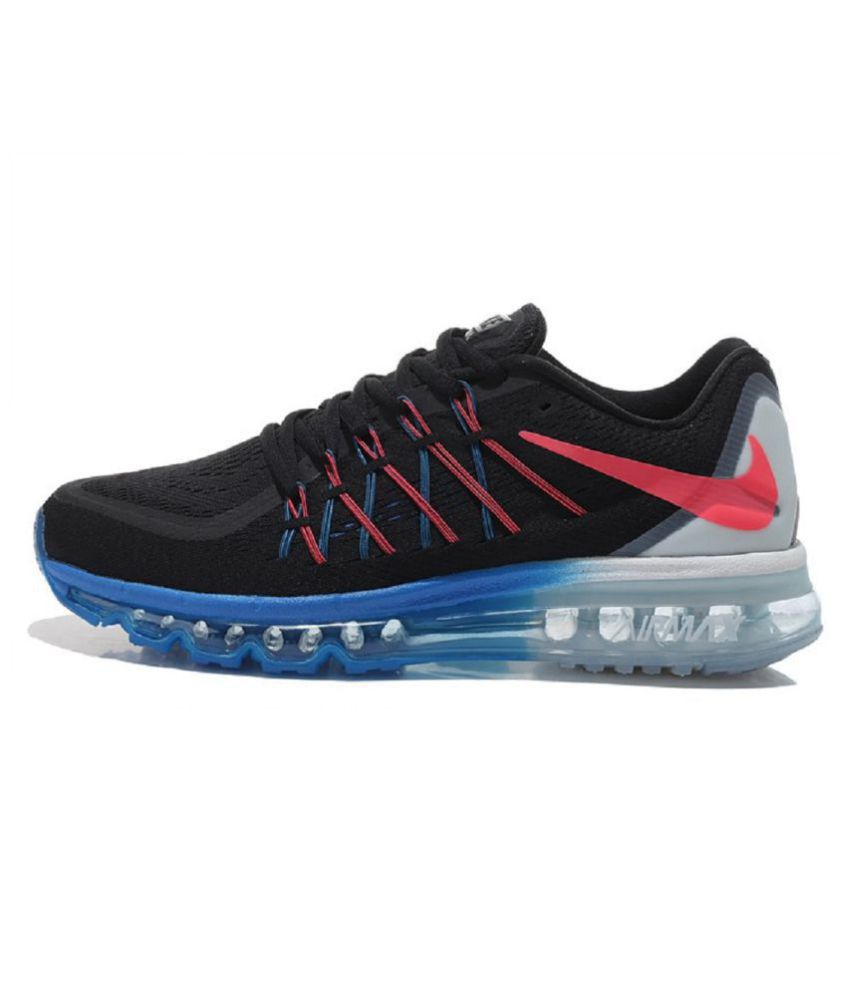 Nike Airmax 2015 Black Running Shoes - Buy Nike Airmax 2015 Black Running  Shoes Online at Best Prices in India on Snapdeal 6a83fa1d9