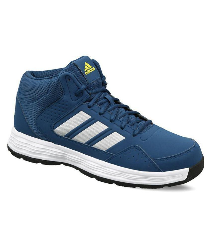 official photos b8d14 1a20c Adidas Adi Rib Blunit Shoyel Silvmt Blue Basketball Shoes - Buy Adidas Adi  Rib Blunit Shoyel Silvmt Blue Basketball Shoes Online at Best Prices in  India on ...