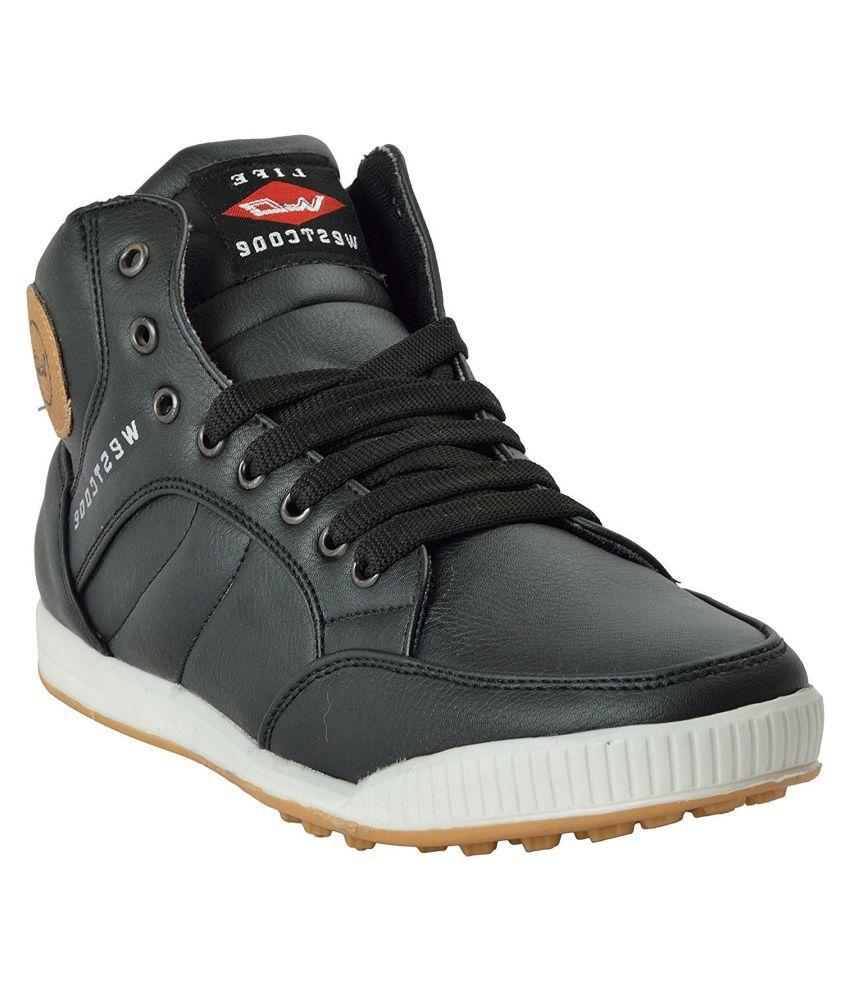 westcode Black Casual Boot