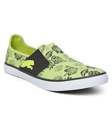 Puma Green Casual Shoes