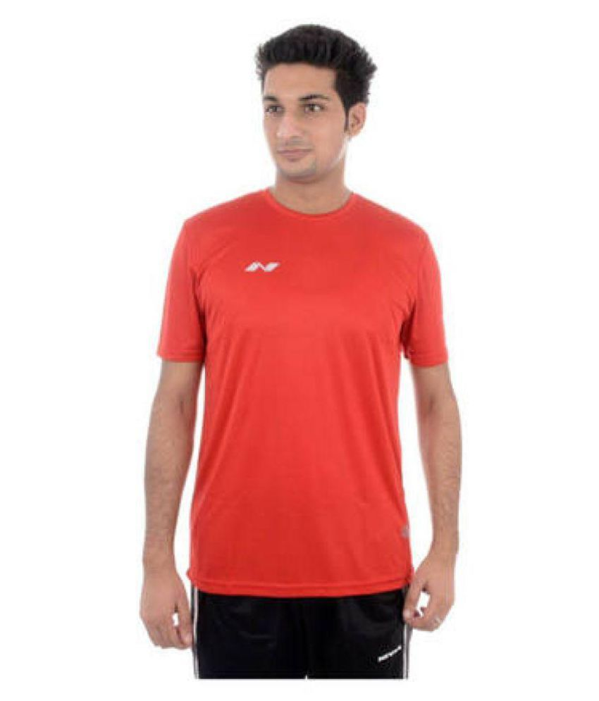 Nivia Red Polyester Jersey-2205XL3