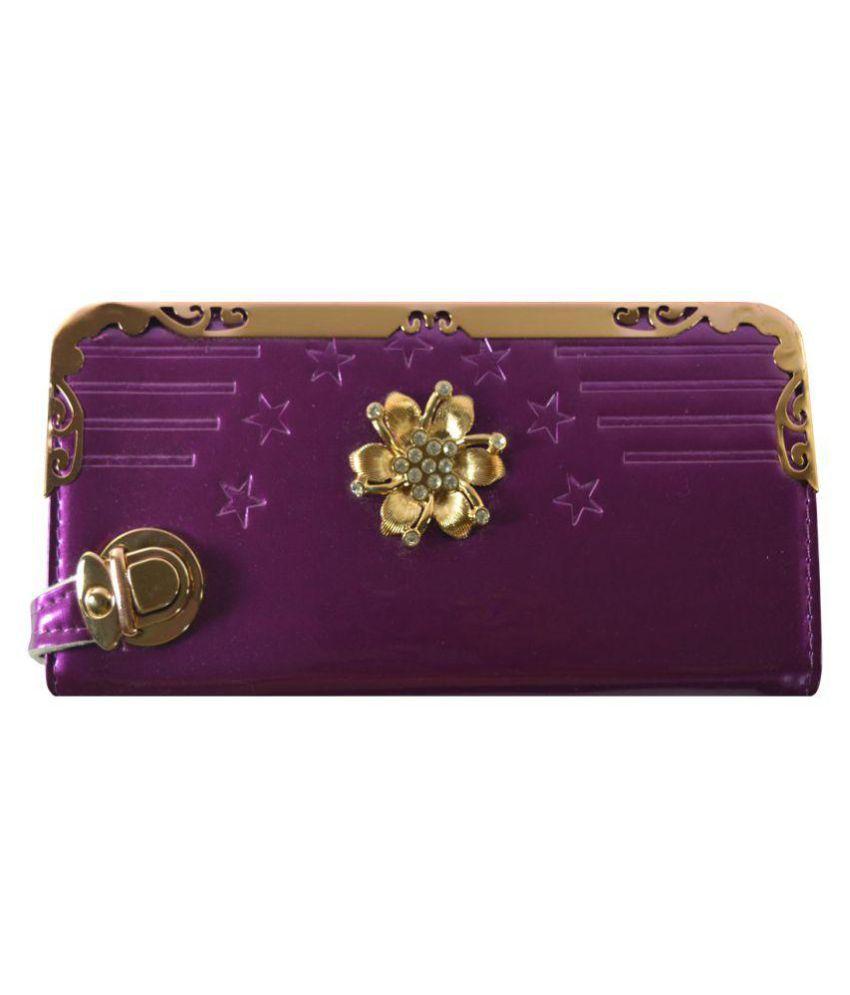 Glitters Online Violet Wallet