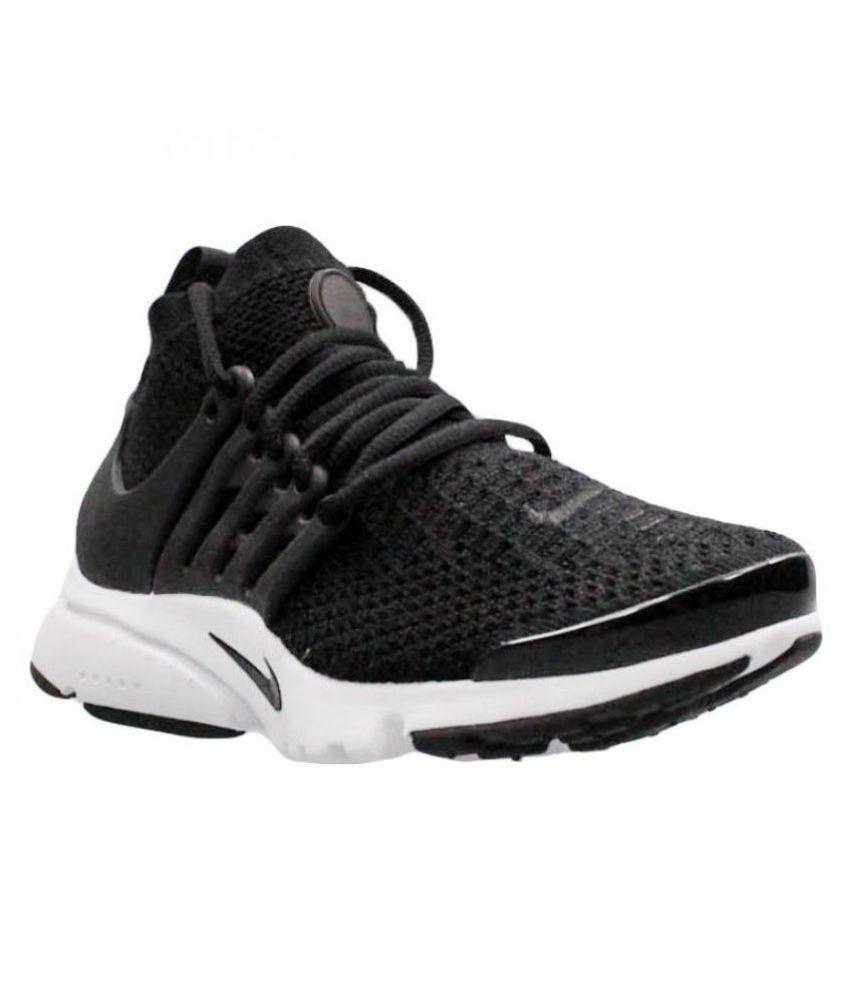 1c215aa4c037 Nike Air Presto Flyknit Black Running Shoes - Buy Nike Air Presto ...
