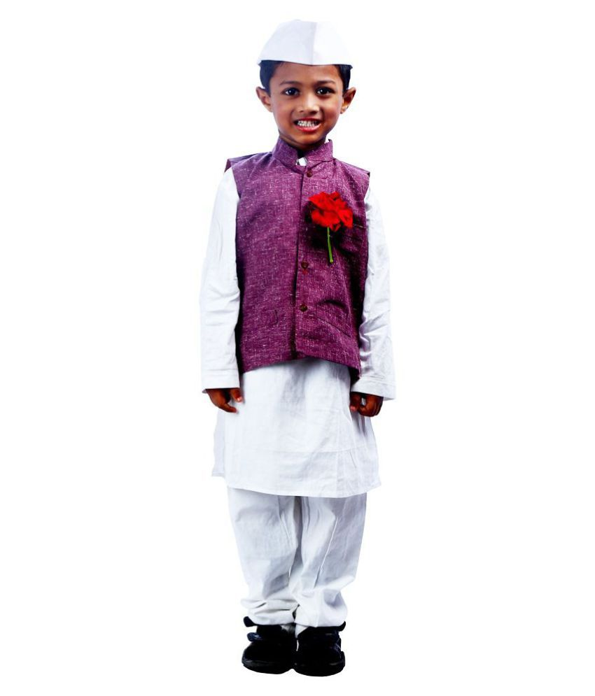 1d5536b79df16 SBD National Heros Jawaharlal Nehru Fancy Dress For Kids
