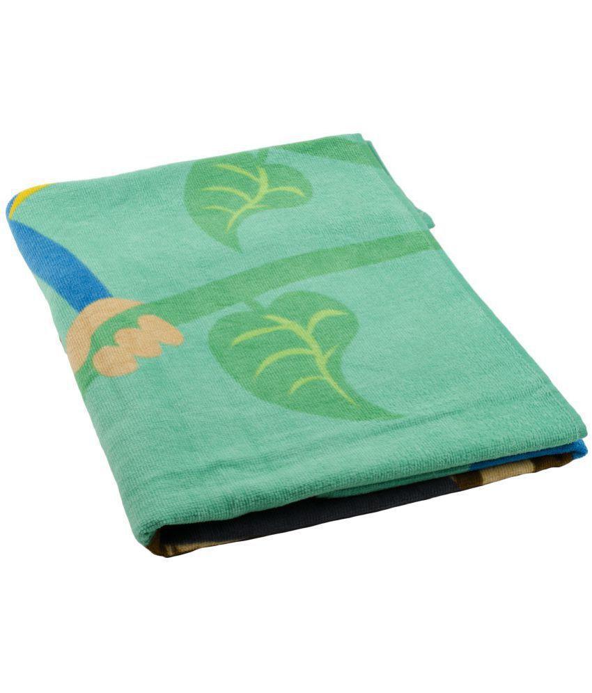Turkish Bath Green Cotton Bath Towels 1 Bath Towel
