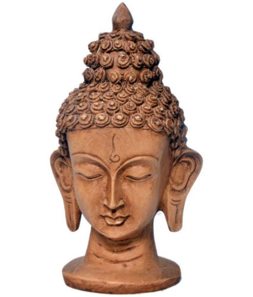 Earth Buddha Polyresin Idol