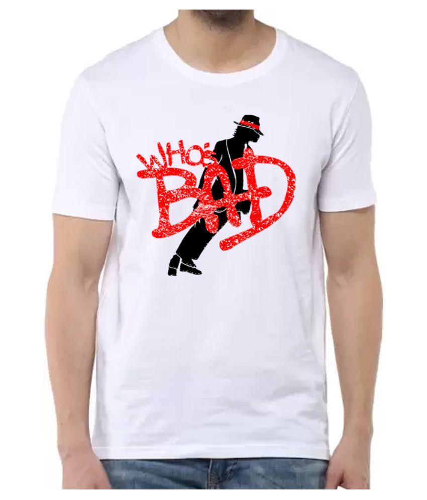 BBK White Round T-Shirt