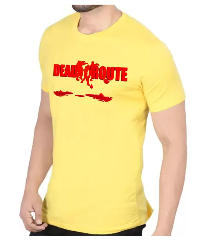 BBK Yellow Round T-Shirt
